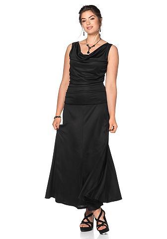 Suknelė su iškirptė su kloste