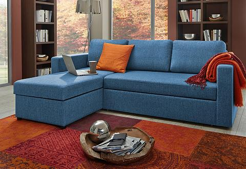 ATLANTIC HOME COLLECTION Kampinė sofa su miegojimo funkcija