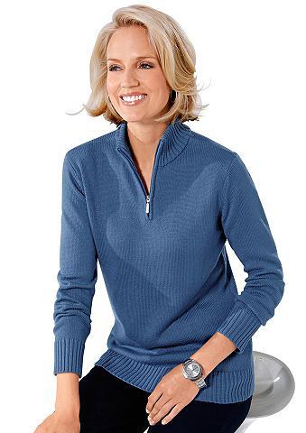 Megztinis su stačia apykakle