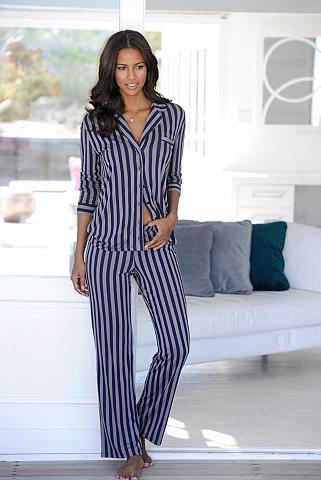 Klasikinio stiliaus pižama im geraden ...