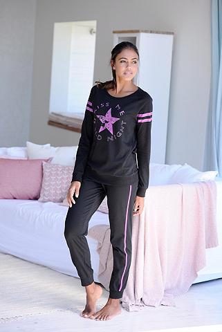 BUFFALO Langer pižama im sportinio stiliaus