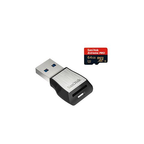 San Disk micro SDXC Extr. Pro 64GB UHS...
