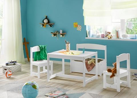 HOPPEKIDS Vaikiškų baldų komplektas (4 dalių)