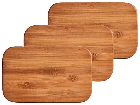 ZELLER Pjaustymo lentelės »Bamboo« 3 vnt. rin...