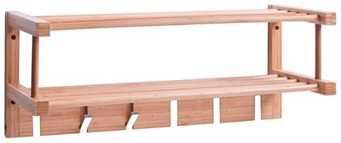 Sieninė kabykla »Bamboo« 60x24x24 cm