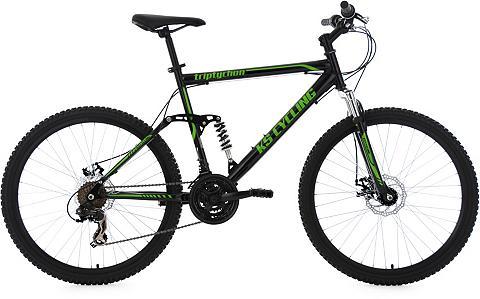 KS CYCLING Herren kalnų dviratis 26 Zoll schwarz-...