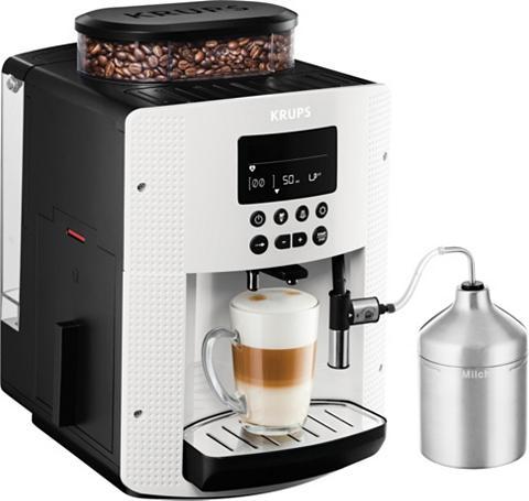 Krups Kaffeevollautomat EA8161 ir Edelstahl-...