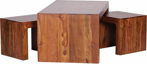 Kavos staliukų rinkinys »Eksaath« 3 da...