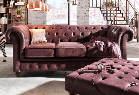 Trivietė sofa »Chesterfield«