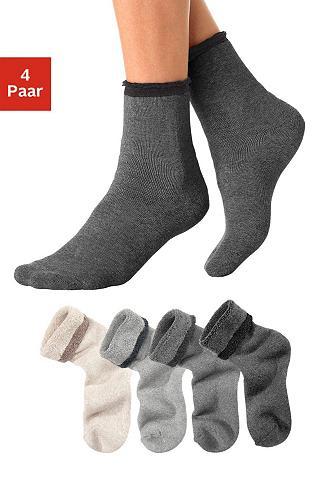 Kojinės (4 poros) su Innenfrottee