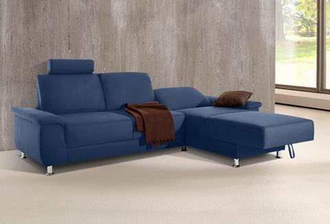 Kampinė sofa su einer atrama galvai pa...