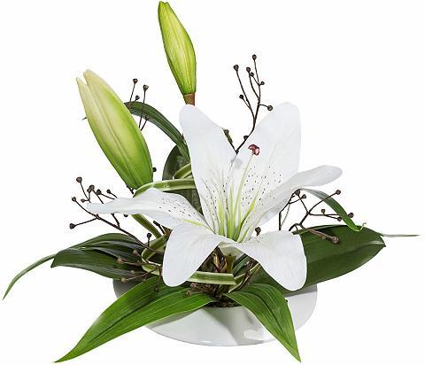 Dirbtinė gėlė »Lilienarrangement«