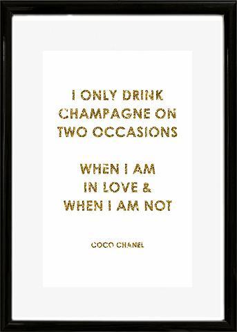 Paveikslas »Spruch: I only drink ?« 30...