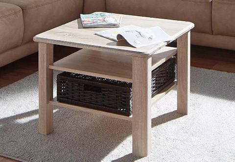 Kavos staliukas su Krepšys ir lentyna