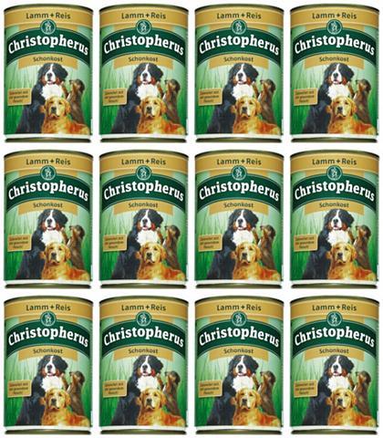 Hundenassfutter »Schonkost« 12 Dosen á...
