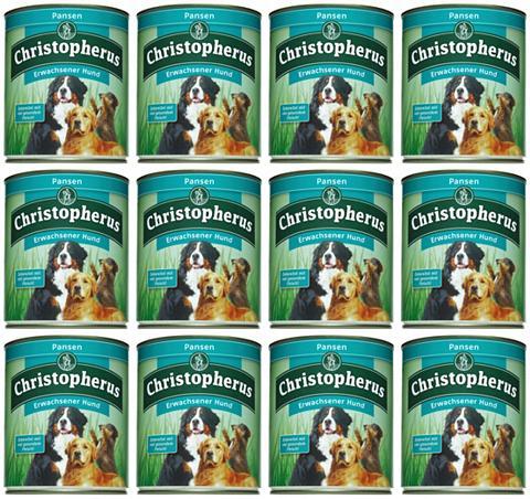 Hundenassfutter »Erwachsener Hund Pans...