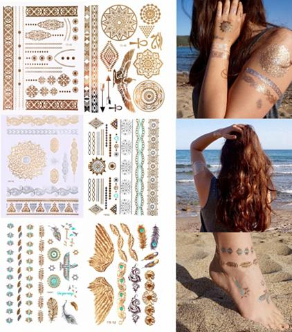 Tatuiruotė »Holiday« Tattoos zum Aufkl...