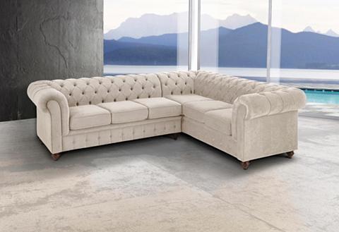 Kampinė sofa »Chesterfield«
