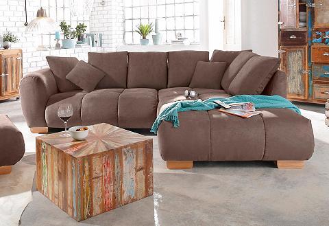 Kampinė sofa »Indianapolis« su spyruok...