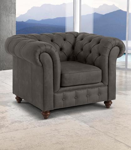 PREMIUM COLLECTION BY HOME AFFAIRE Fotelis »Chesterfield«