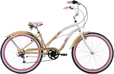 KS CYCLING Cruiser »Cherry Blossom« 6 Gang Shiman...