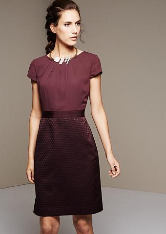 Feines suknelė su žakardinis raštas