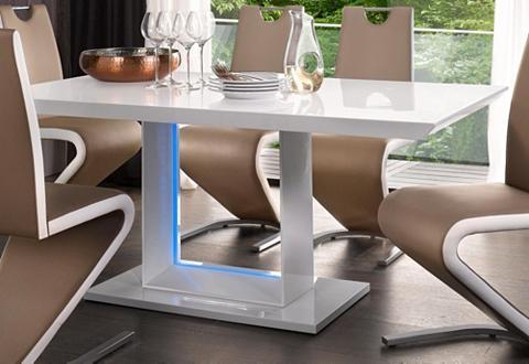 Valgomojo stalas plotis 140/160 cm