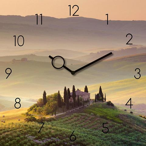 Stiklinis laikrodis »Tuscany Garden« 3...