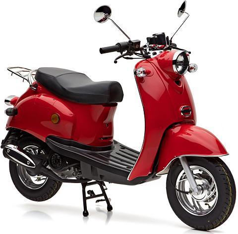Mofaroller 49 ccm 25 km/h raudona »Ven...