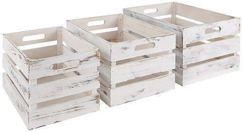 ZELLER PRESENT Zeller Dėžutės daiktų saugojimui (3er ...