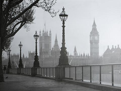 Fototapetas »London Nebel« 366/254 cm