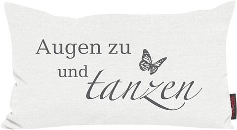Dekoratyvinė pagalvėlė »Augen zu« su n...