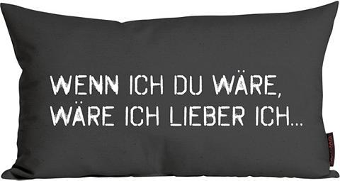 Dekoratyvinė pagalvėlė »Wenn ich Du wä...