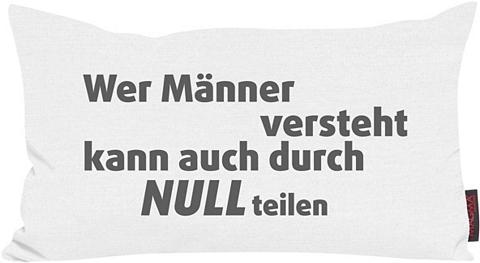 Dekoratyvinė pagalvėlė »Männer versteh...