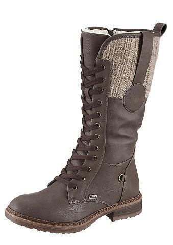 RIEKER Suvarstomi ilgaauliai batai