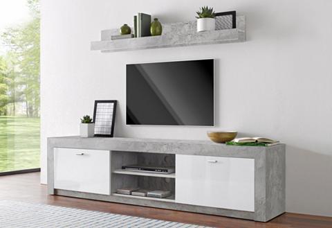 TV staliukas su 1 lentyna