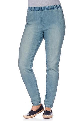 Tamprės in džinso imitacija