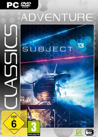 MORPHICON PC - Spiel »Subject 13 (Adventure Clas...