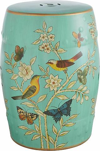 HOME AFFAIRE Dekoratyvinis keramikinis staliukas su...