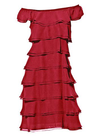 heine TIMELESS Kokteilinė suknelė su paraukimais