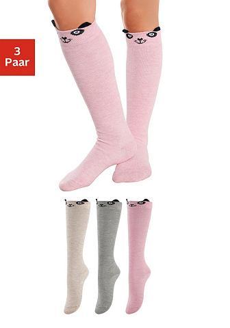 Kinder kojinės iki kelių (3 poros) Pan...