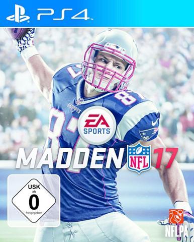 Playstation 4 - Spiel »MADDEN NFL 17«