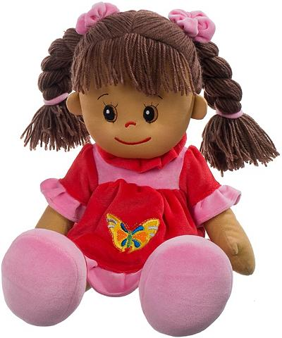 HEUNEC Lėlė raudona »Poupetta Lucy su braunem...
