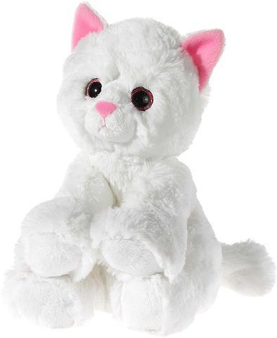 Kuscheltier weiss »Glitter Kitty Katze...