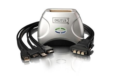 KVM-Kit »USB Pocket KVM šakotuvas dėl ...