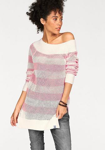 Kanga ROOS dryžuotas megztinis
