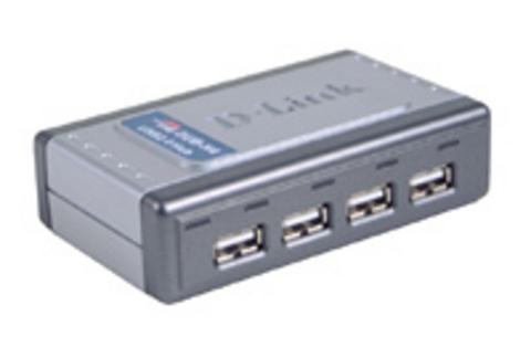 D-LINK USB šakotuvas »DUB-H4 USB laikmena 2.0...