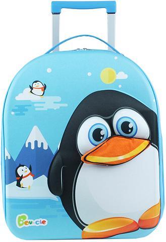 Kinder lagaminas »Bouncie 3D Pinguin«