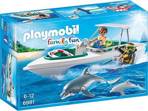 PLAYMOBIL ® Tauchausflug su sportinė valtis (698...
