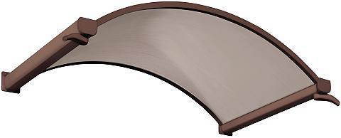 Stogelis virš durų 160x90x30 cm braun